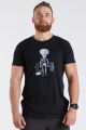 T-shirt męski na crossfit SKELETON DeadLift