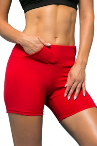 Running Women's Shorts RUN RED