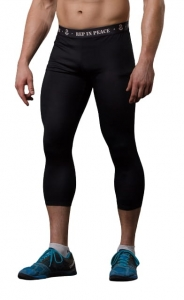 Men's Training Leggings CARBON Capri