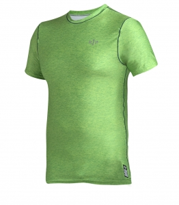 Men's Workout Rashguard MELANGE Green