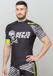 Men's Gym Rashguard DANGER Active Seam