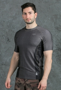 Men's Workout Rashguard STEEL