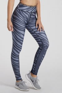 Gym Fitness Women's Leggings TIGER Silver