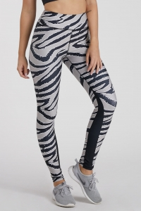Legginsy damskie na Crossfit i fitness TIGER Gold