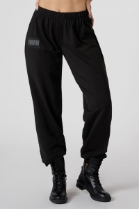 Black Sweatpants Unisex BARCODE