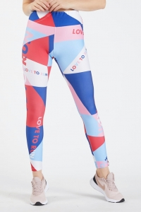 Running Leggings for Women FLAMINGO