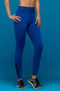 Jogging Leggings for Women RUN BLUE