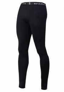 Men's Long Tights Reflective CARBON
